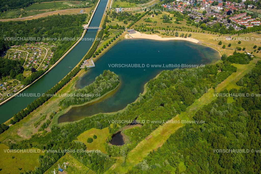 Luenen15064062 | Seepark Lünen mit Kanal und Preußenhafen, Datteln-Hamm-Kanal, Lünen, Ruhrgebiet, Nordrhein-Westfalen, Deutschland