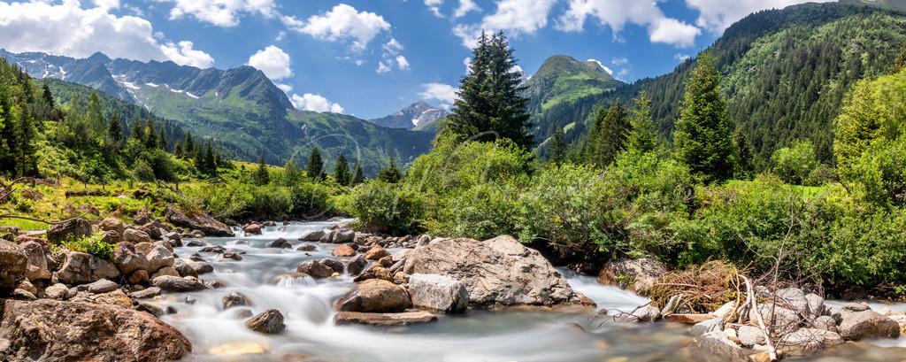Gschnitztal   Sommer im Gschnitztal