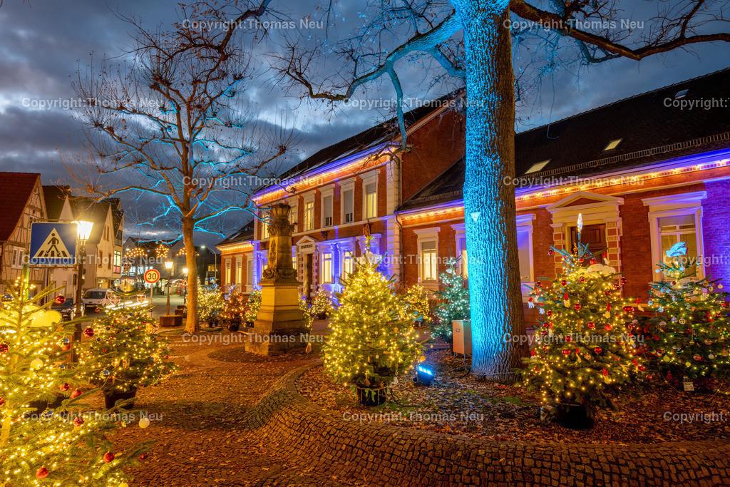 DSC_4127 | ble,Lorsch, blaues Weihnachtswunder, Innenstadt, ,, Bild: Thomas Neu