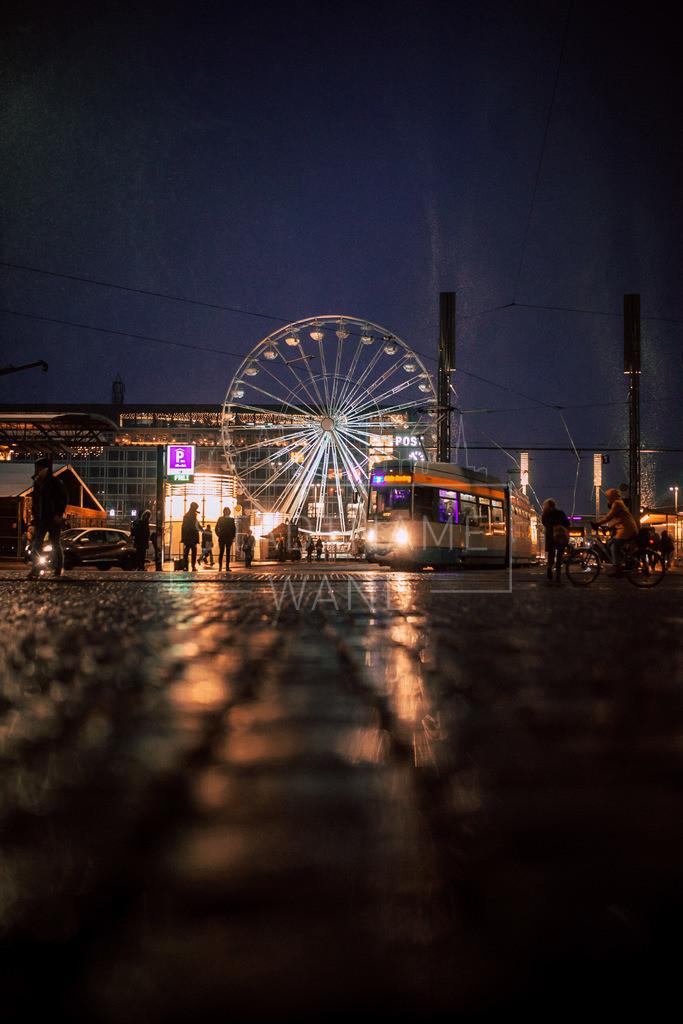 Regen Riesenrad