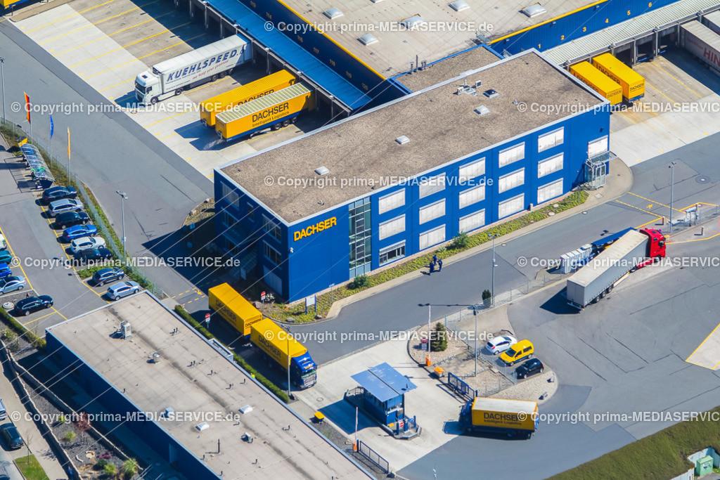 IMGL2121 | Luftbild DACHSER GmbH & Co. KG Frachtspeditionsdienst 21.04.2015 Niederlassung in Dortmund (Nordrhein-Westfalen, Deutschland).  Foto: Michael Printz / PHOTOZEPPELIN.COM