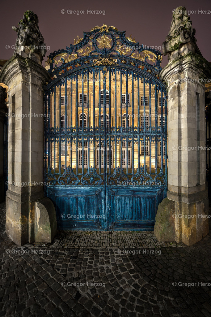 Das blaue Tor | Tor Erbdrostenhof (2018) Münster