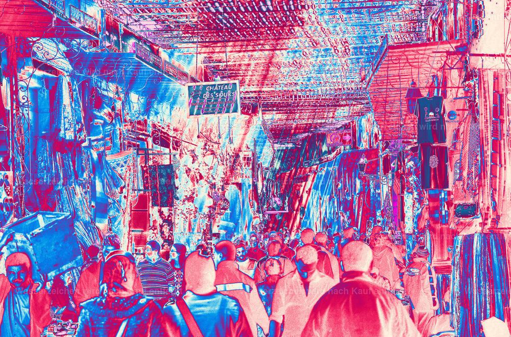 Souks | Marokko, Marrakesch, Photokunst, Kunstwerk, wallpaper, art