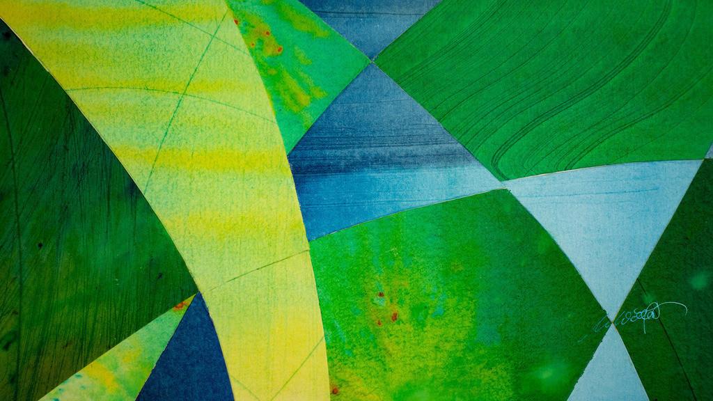 6_Farbeninstrumental_4254 | Instrumentalmusik mit den Augen hören ... Holzbeizen - Phantasie auf Papier.  (Teile der Originale von der Serie