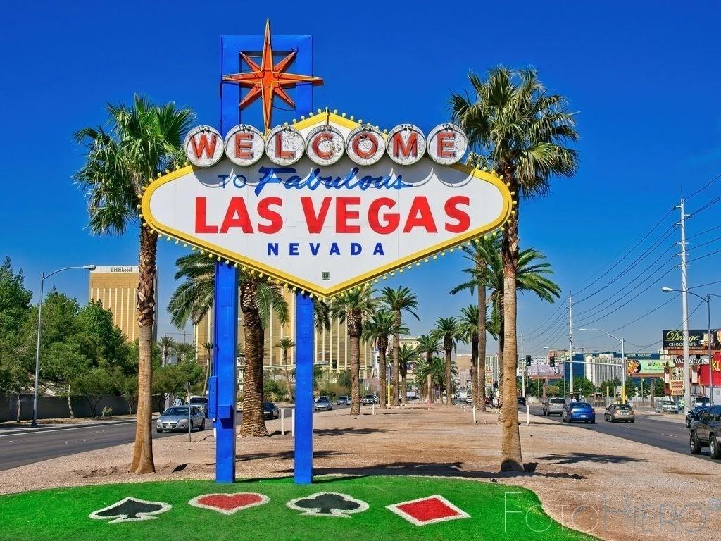 Welcome to Fabulous Las Vegas | Welcome to Fabulous Las Vegas, dass 1959  von Betty Willis entworfene Werbeschild in Las Vegas