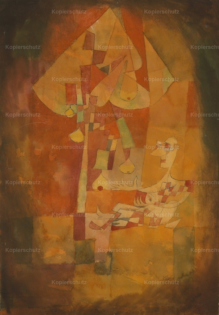 Klee_ Paul (1879-1940) - The Man under the Pear Tree 1921