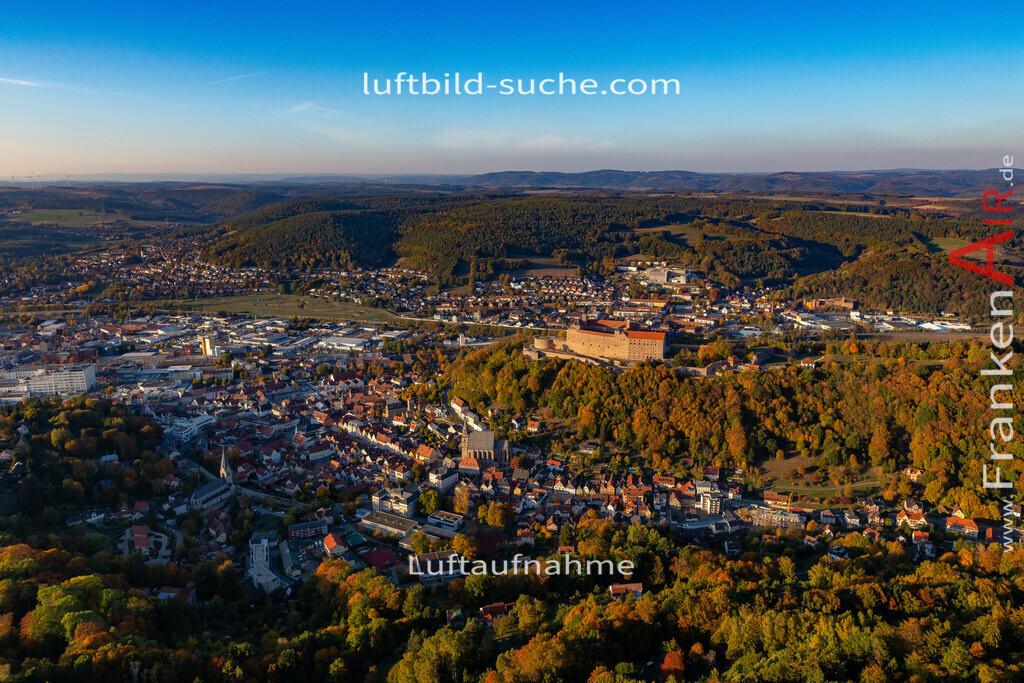 altstadt-kulmbach-18-391 | aktuelles Luftbild von Altstadt Kulmbach - Luftaufnahme wurde 2018 von https://frankenair.de mittels Flugzeug (keine Drohne) erstellt.