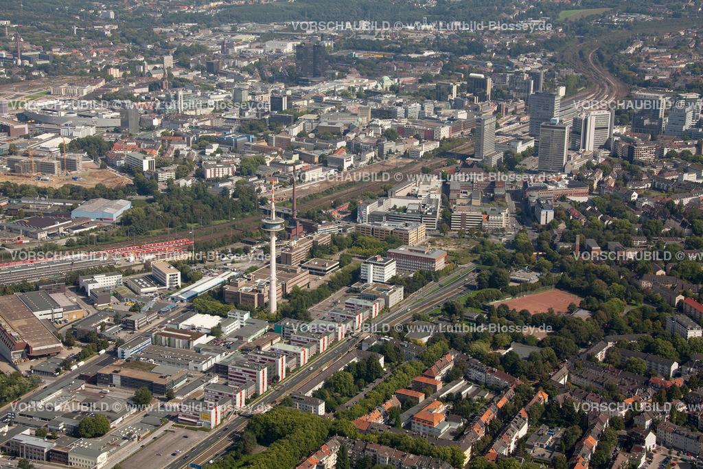 ES10095595 | Luftbild, ETEC Essen an der A40, Technologiezentrum Essen,  Essen, Ruhrgebiet, Nordrhein-Westfalen, Germany, Europa, Foto: hans@blossey.eu, 11.09.2010