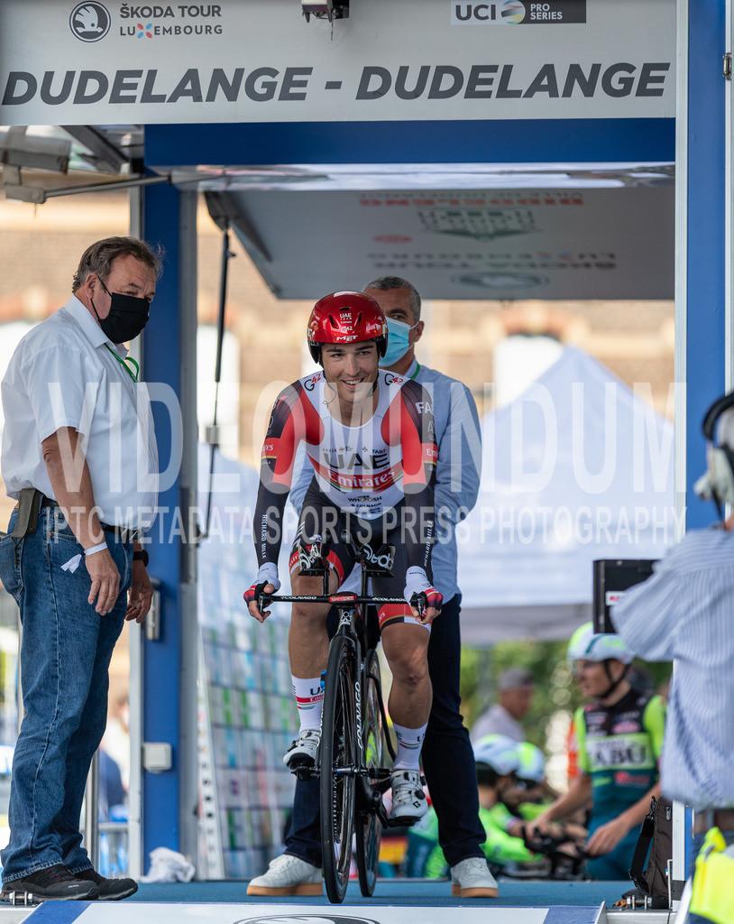 81st Skoda-Tour de Luxembourg 2021 | 81st Skoda-Tour de Luxembourg 2021, Stage 4 ITT Dudelange - Dudelange; Dudelange, 17.09.2021: CONTI Valerio (UAE-Team Emirates, 2)