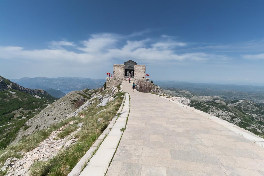 Lovcen Gebirge (Montenegro)