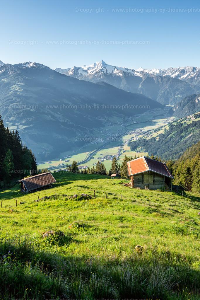Zillertaler Höhenstrasse am Morgen-6