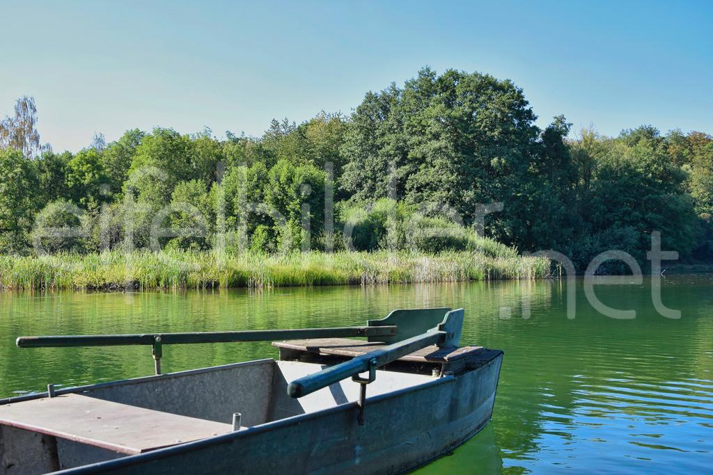 Boot am Holzmaar | Eifel, Vulkaneifel (bei Gillenfeld)