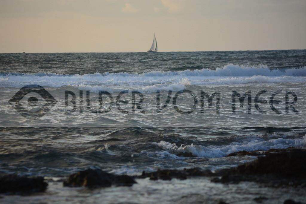 Bilder vom Meer | Bilder vom Meer mit Segelboot