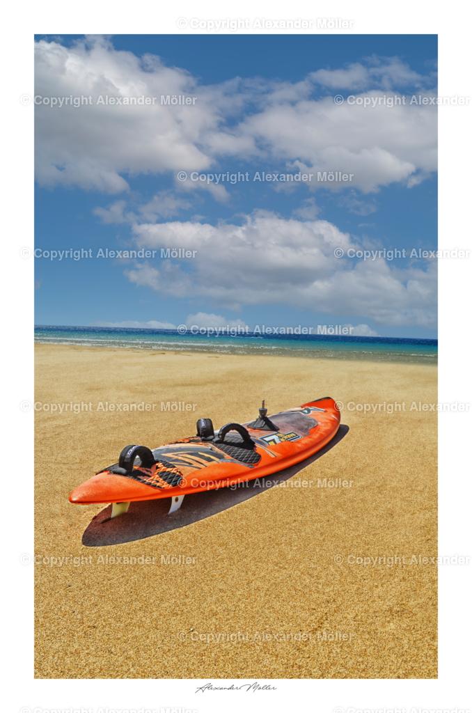 Fuerteventura No.6 | Dieses Werk zeigt das Surferparadies Fuerteventura.