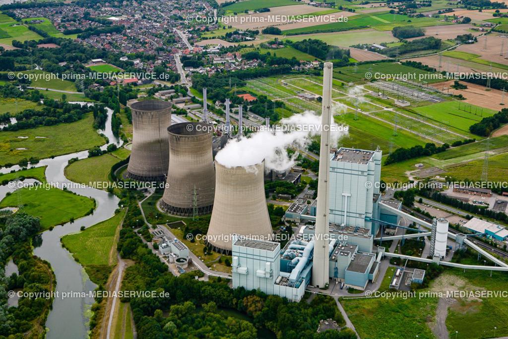 2012-08-28 Fotoflug Hamm | Luftbildflug Dienstag, 28. August 2012 Deutschland, Nordrhein-Westfalen, Hamm, Nord Herringen, Gersteinkraftwerk Foto: Michael Printz / PHOTOZEPPELIN.COM