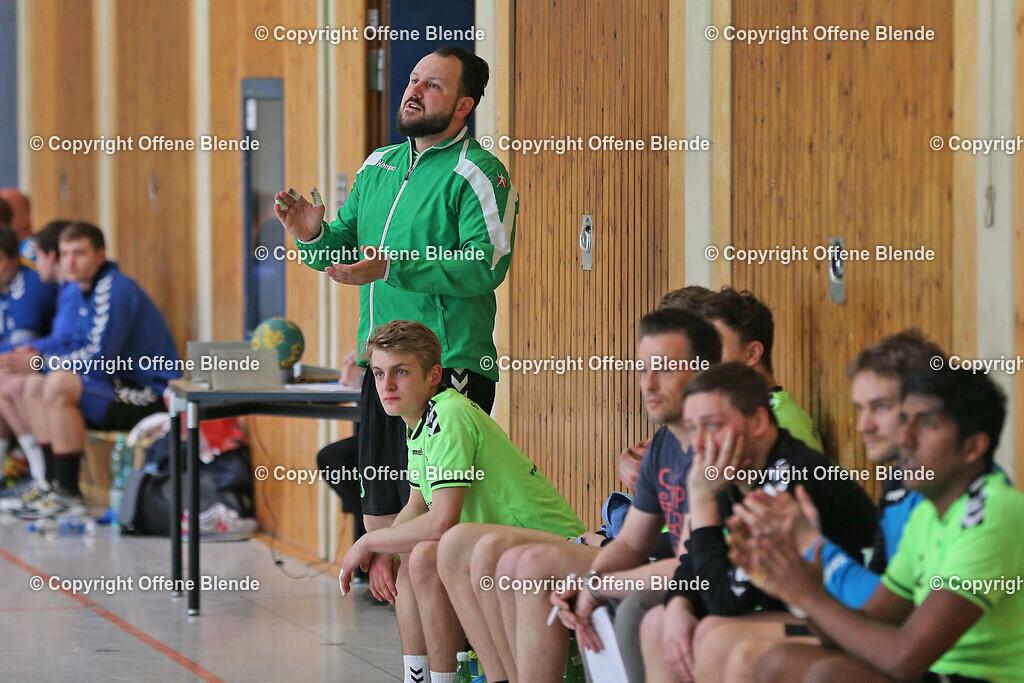 Handball: HSG Rauxel-Schwerin - Westfalia Herne | Trainer Sebastian Clausen