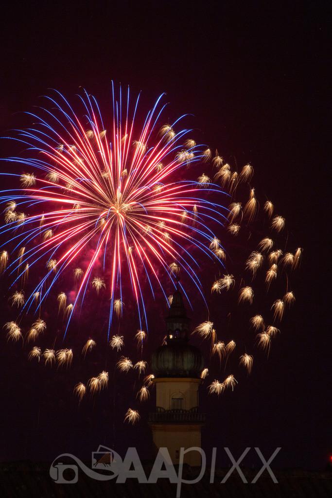 Feuerwerk Aalen | Salvatorkirche