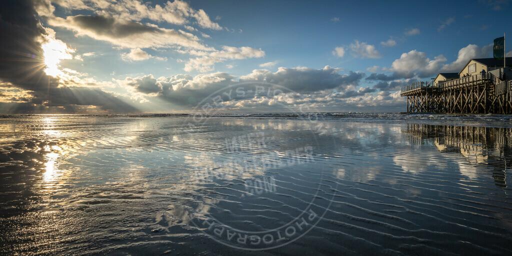 fotograf sankt peter-ording mobbys-pics.comDSC00075 | Abendstimmung am Strand
