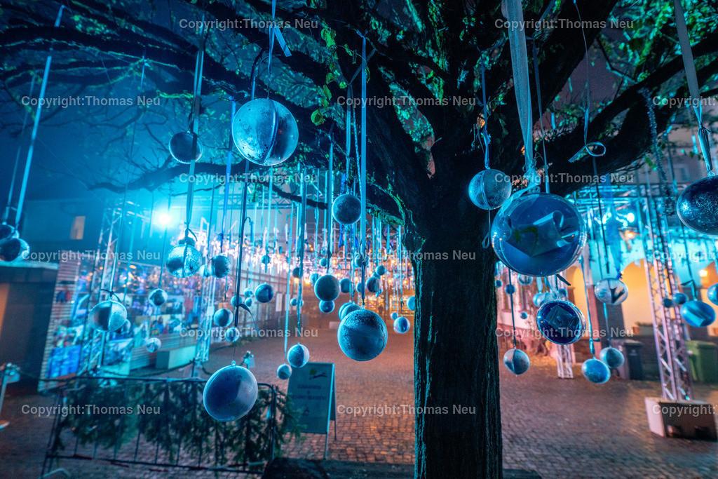 DSC_3958 | ble,Lorsch, blaues Weihnachtswunder, Innenstadt, ,, Bild: Thomas Neu