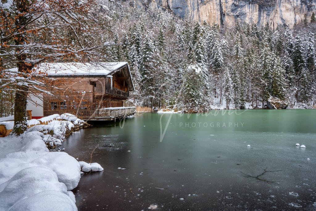 Berglsteinersee | Der Berglsteinersee im Winter