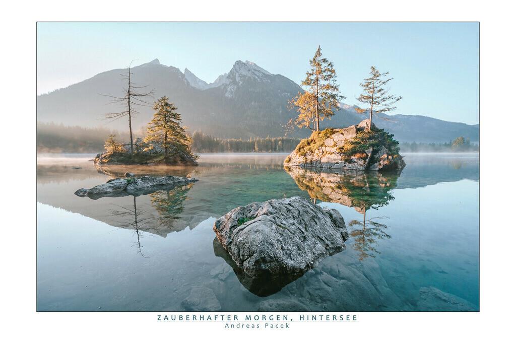 Zauberhafter Morgen, Hintersee | Die Serie 'Deutschlands Landschaften' zeigt die schönsten und wildesten deutschen Landschaften.