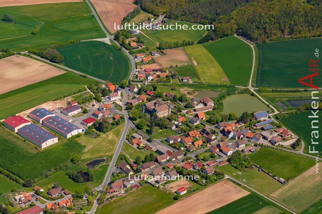breitenlohe-19-216 | aktuelles Luftbild von  Breitenlohe  - Luftaufnahme wurde 2019 von https://frankenair.de mittels Flugzeug (keine Drohne) erstellt.