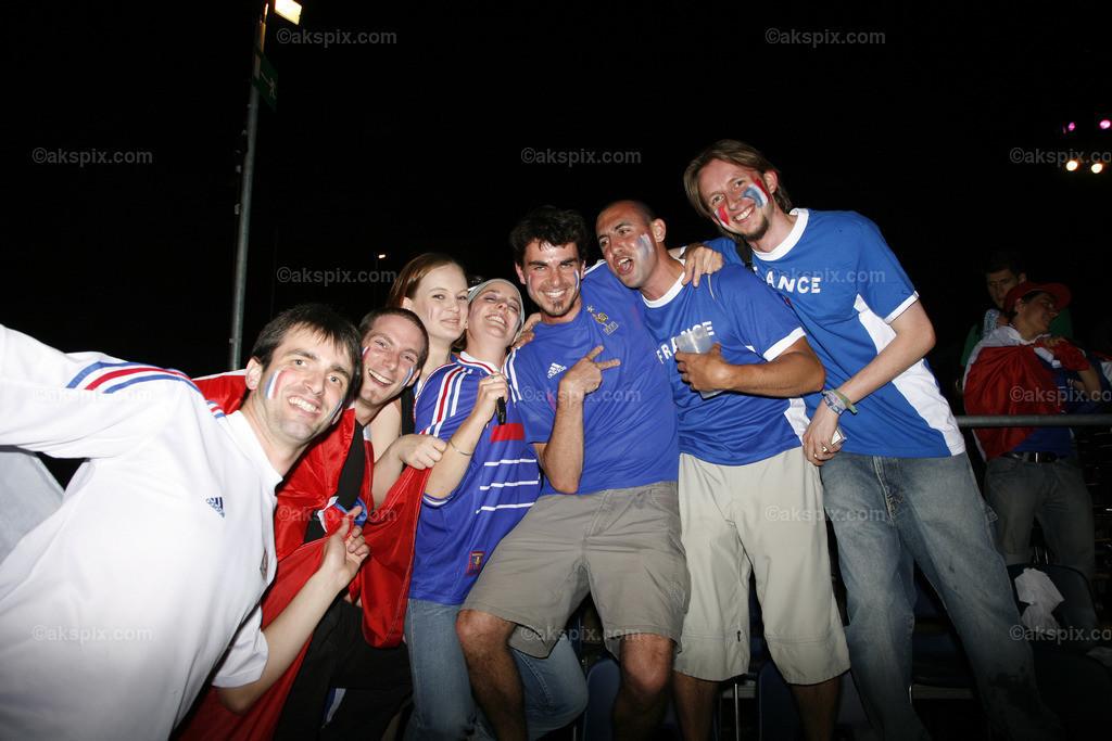 Frankreich-Fan