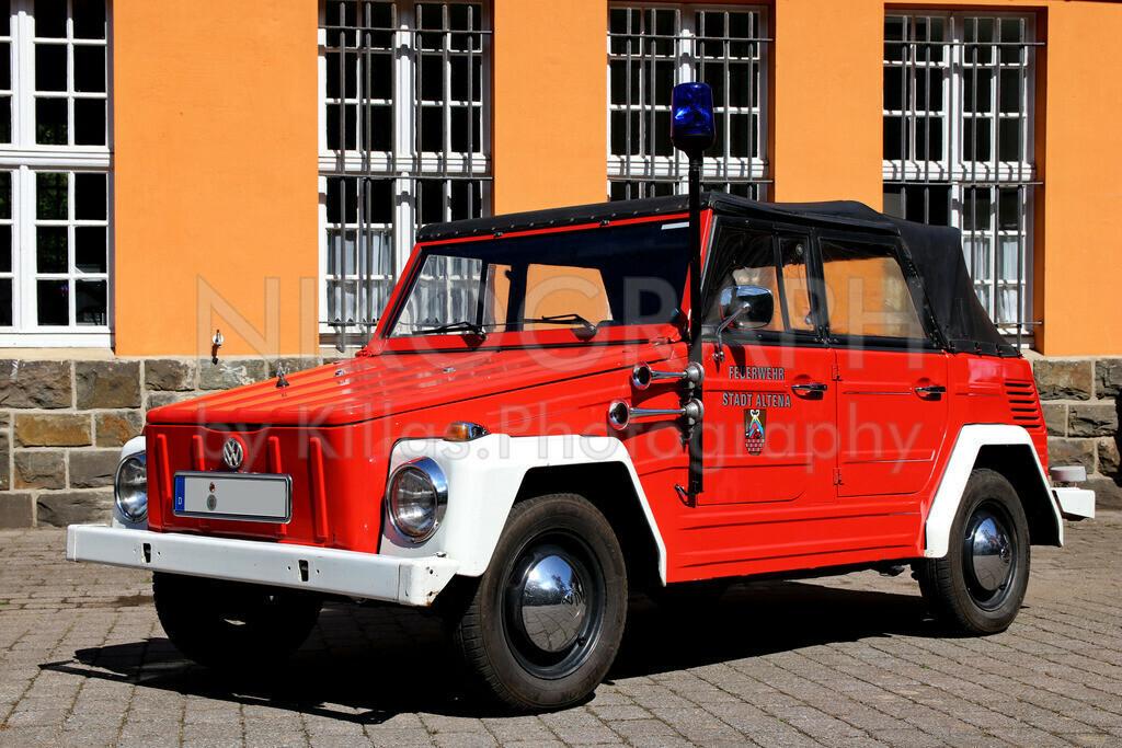 Feuerwehr Kübelwagen | Ein historischer Kübelwagen der Feuerwehr Altena.