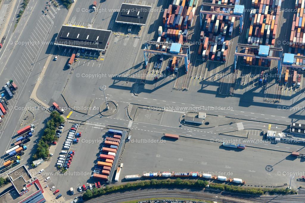 Hamburg Altenwerder HHLA_ELS_4059120916 | Hamburg - Aufnahmedatum: 12.09.2016, Aufnahmehöhe: 445 m, Koordinaten: N53°30.360' - E9°55.530', Bildgröße: 6915 x  4615 Pixel - Copyright 2016 by Martin Elsen, Kontakt: Tel.: +49 157 74581206, E-Mail: info@schoenes-foto.de  Schlagwörter:Hamburg,Altenwerder,Hafen,AutomatisierterHafen,Elbe,Luftbild,Luftbilder, Martin Elsen