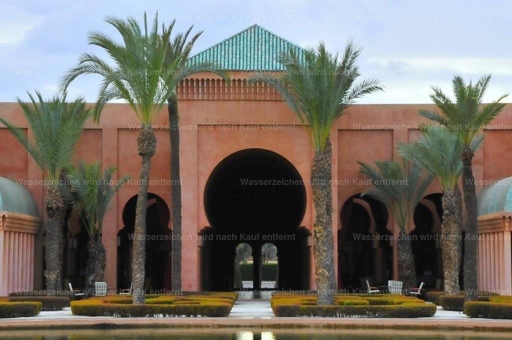 Amanjena Hotel-Resort_Heiko7 | Marokkanische Architektur