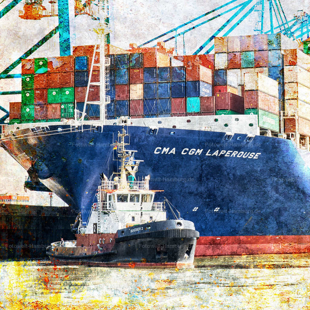 12005866 - Containerschiff am Burchardkai