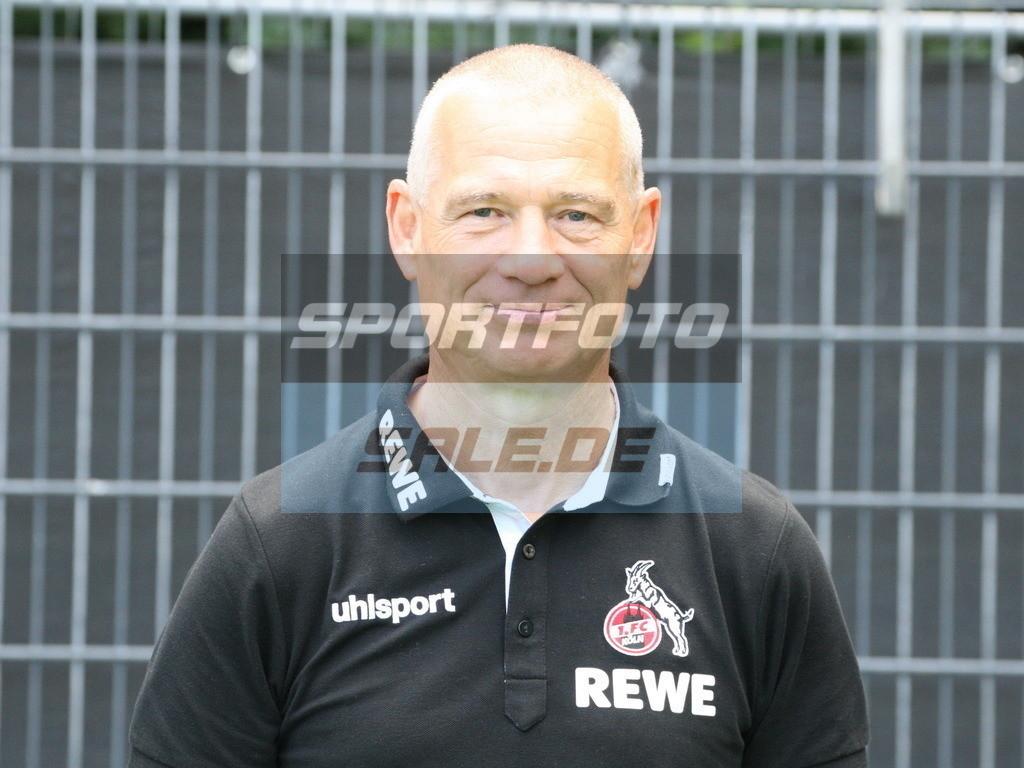 1. FC Köln Fotoshooting | Michael Liebetrut - © Sportfoto-Sale (MK)