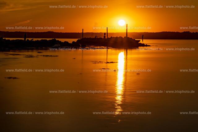 Sonnenuntergang auf Holnis C14 | Sonnenuntergang auf Holnis an der Ostsee