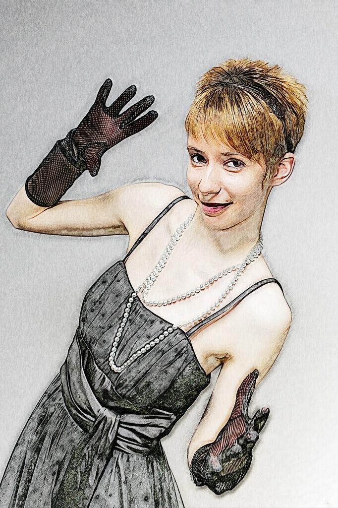 Handschuh Lady Bild 051