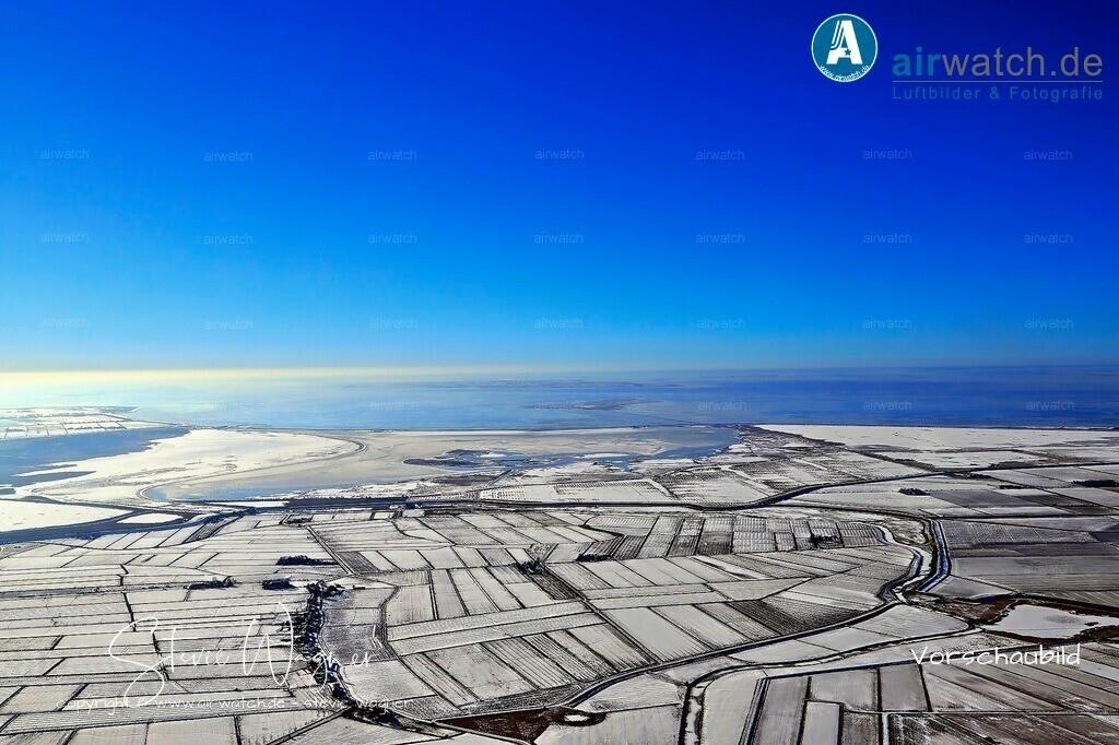 Winter Luftbilder, Nordsee, Beltringharder Koog, Luettmoorsiel, Hattstedtermarsch  | Luftbilder, Nordsee, Beltringharder Koog, Luettmoorsiel, Hattstedtermarsch