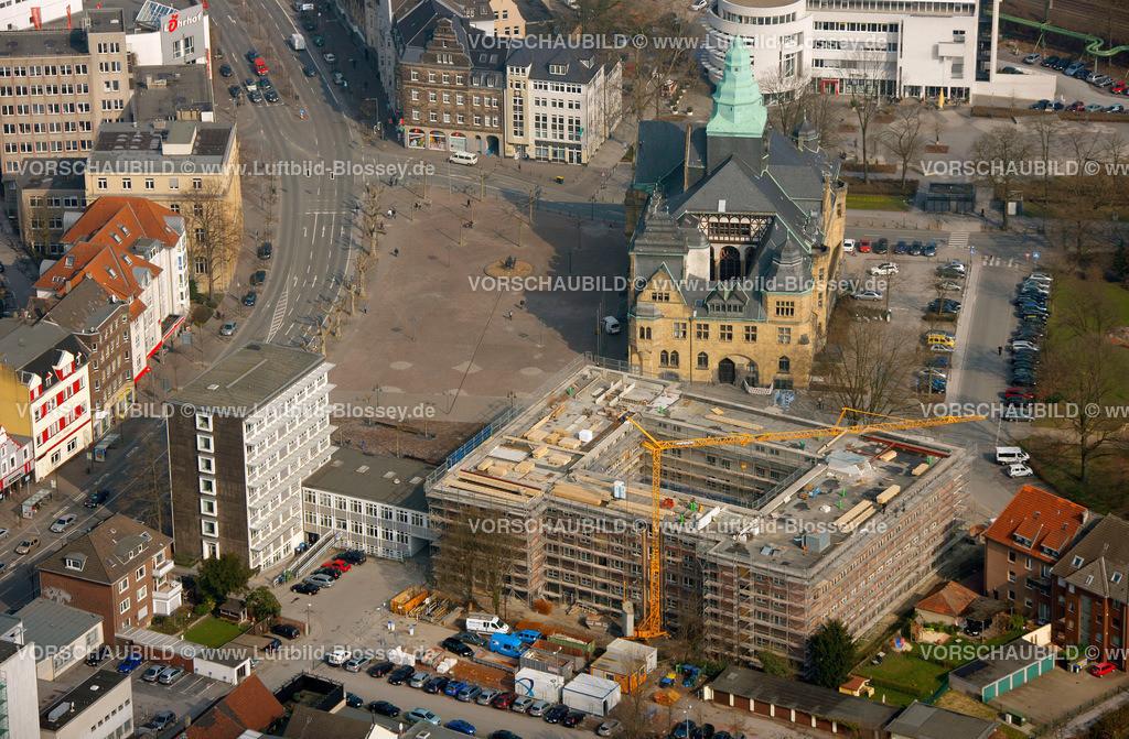 RE11031875 | Behoerdenhaus am RAthaus,  Recklinghausen, Ruhrgebiet, Nordrhein-Westfalen, Germany, Europa