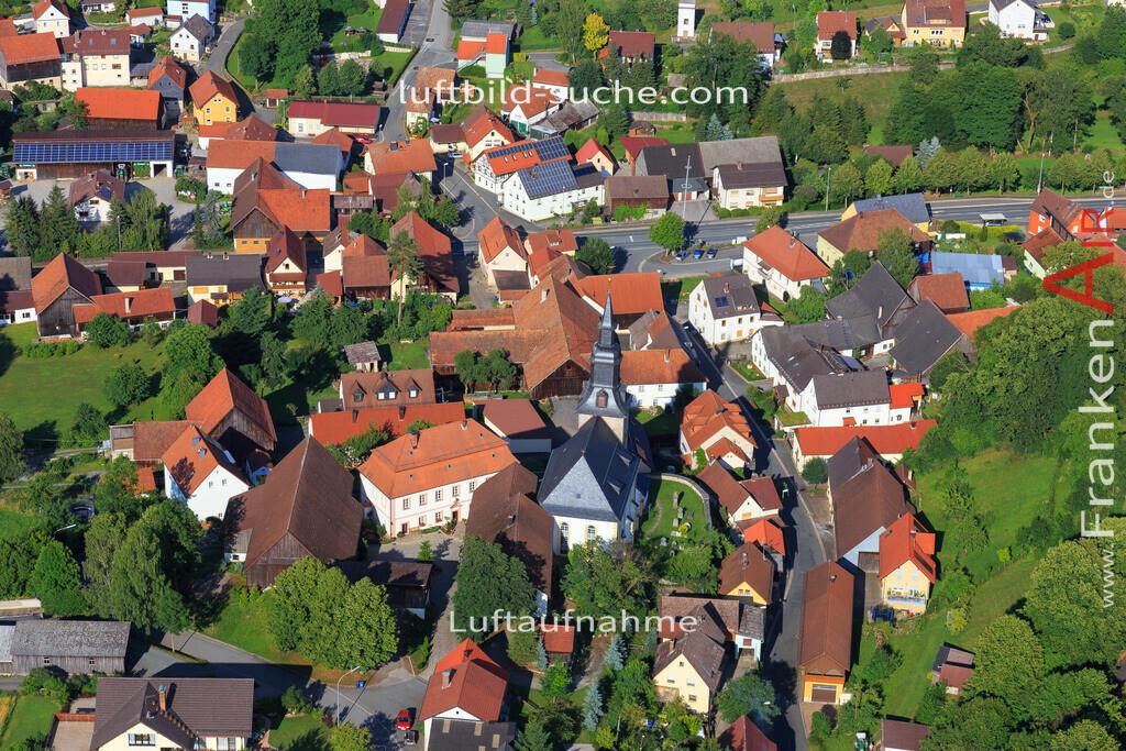 kirche-kulmbach-2015-4901 | Luftbild von Kirche Kulmbach - Luftaufnahme wurde 2015 von https://frankenair.de mittels Flugzeug (keine Drohne) erstellt - die Geschenkidee