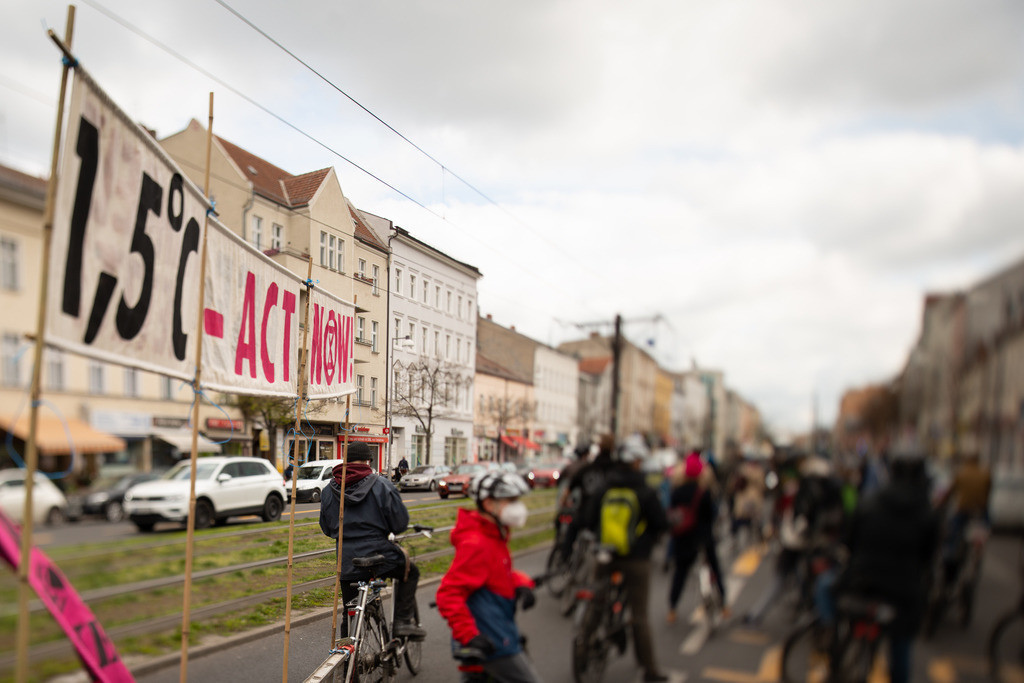 Fahrrad-Demo 24.04.2021 in Weißensee   Verkehrswende auch in Weißensee: Berliner Allee umbauen!