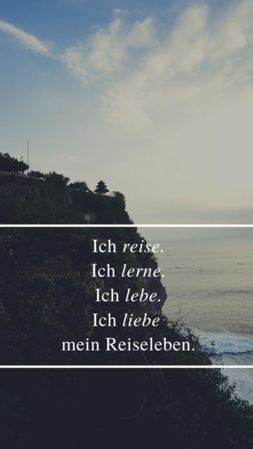 Smartphone Wallpaper Vorlage_Reiseleben