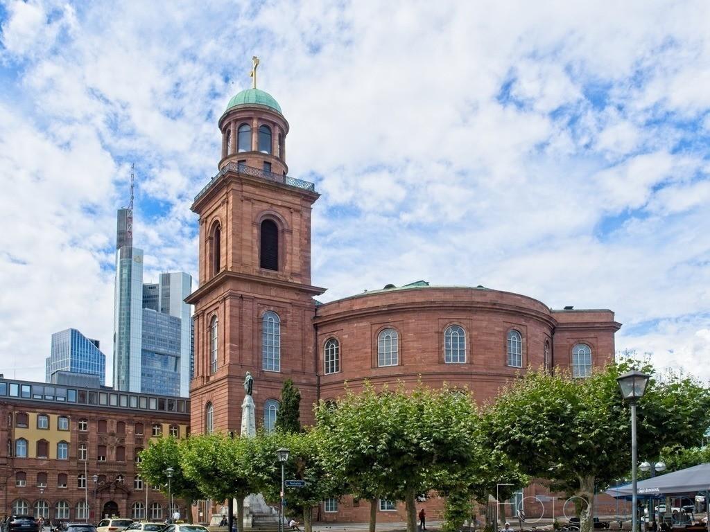 Paulskirche Frankfurt | In der Paulskirche in Frankfurt am Main tagten 1848 bis 1849 die Delegierten der Frankfurter Nationalversammlung, der ersten Volksvertretung für ganz Deutschland