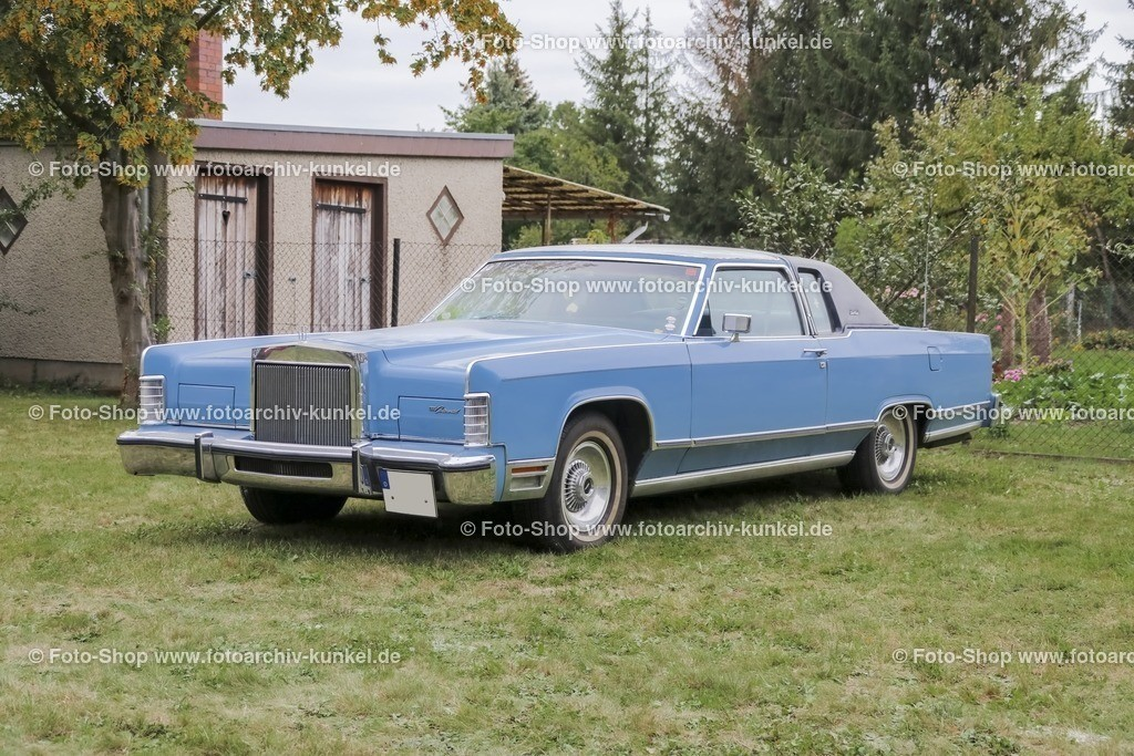 Lincoln Continental 2dr Town Coupé, 1978 | Lincoln Continental 2dr Town Coupé, Farbe: Blau, Modell 1978, Bauzeit der 5. Generation des Lincoln Continental: 1970-1979, Herstellerland: USA