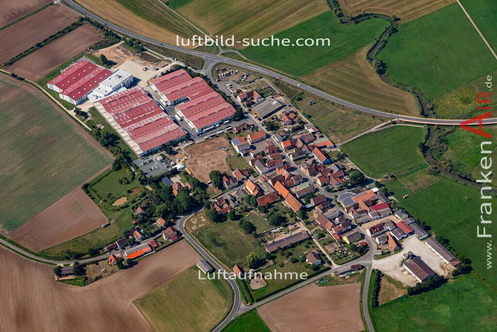 demantsfuerth-19-571 | aktuelles Luftbild von Demantsfuerth   - Luftaufnahme wurde 2019 von https://frankenair.de mittels Flugzeug (keine Drohne) erstellt.