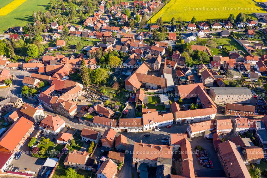 10049-51022 - Blick auf Badersleben _ Gemeinde Huy