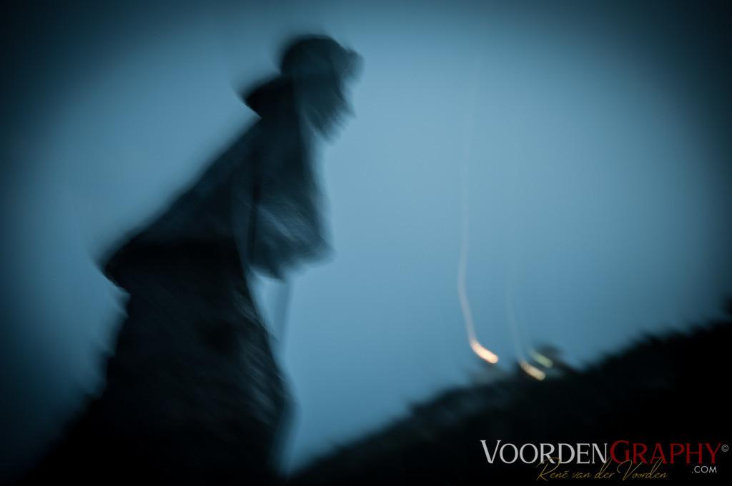 Pilger im Wind