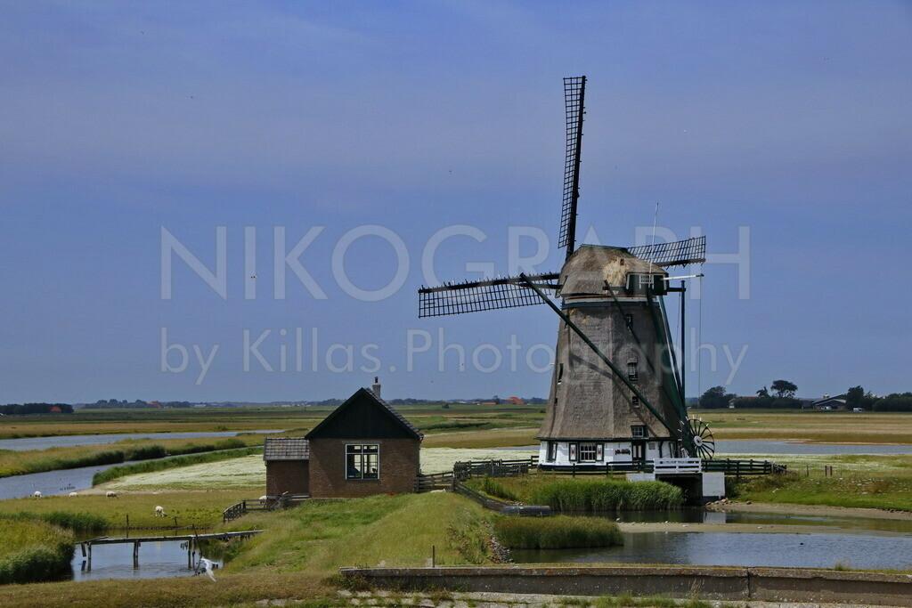 Poldermühle Het Noorden | Die Poldermühle Het Noorden wurde 1878 gebaut und gehört zu den größten Windmühlen in Nordholland. Die Windmühle sollte Wasser aus dem Polder pumpen. Nach der Deicherhöhung im Jahre 1965 wurde die Windmühle außer Betrieb gesetzt.