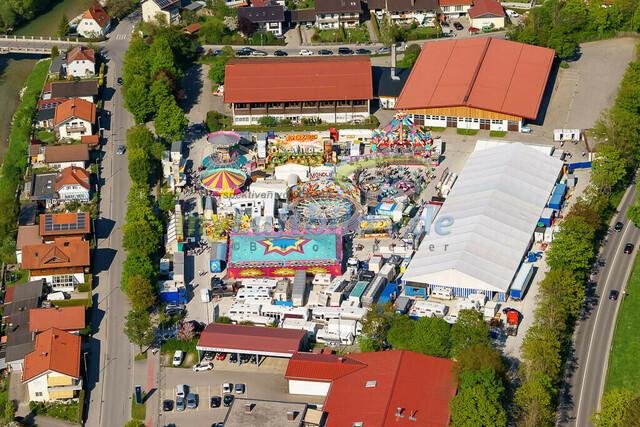 luftbild-traunstein-fruehligsfest-bruno-kapeller-37 | Luftaufnahme vom Traunsteiner Fruehlingsfest 2016