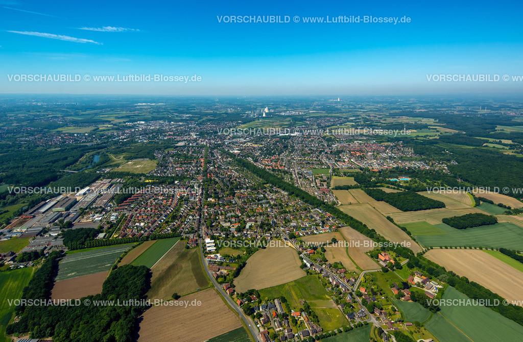 Luenen15061540 | Blick auf Lünen vom Osten gesehen, Lünen, Ruhrgebiet, Nordrhein-Westfalen, Deutschland
