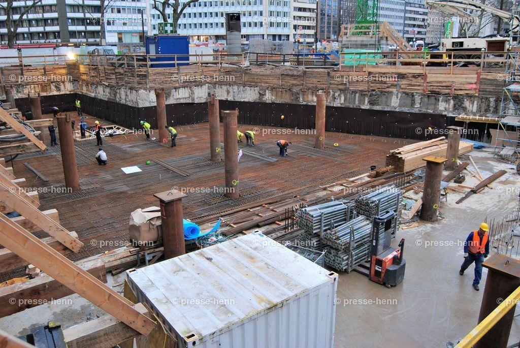 Werhahnlinie | Bau der U-Bahn