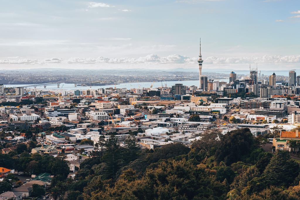 Blick auf Auckland   Blick auf Auckland