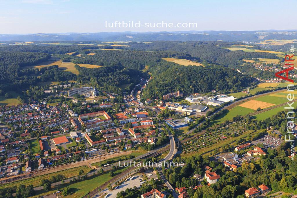 kulmbach-2015-1788   Luftbild von  Kulmbach - Luftaufnahme wurde 2015 von https://frankenair.de mittels Flugzeug (keine Drohne) erstellt - die Geschenkidee